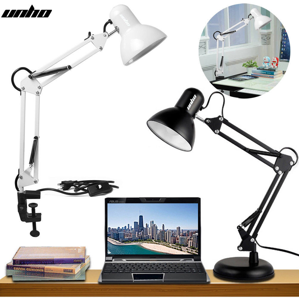 Best ideas about Bright Desk Lamp . Save or Pin SUPER BRIGHT SWING Arm Desk Lamp Clamp on Table Light with Now.