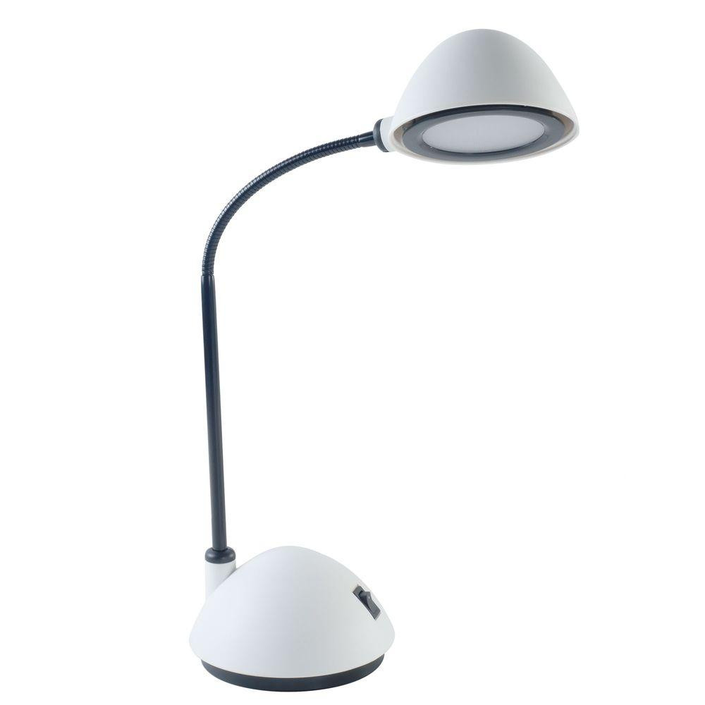 Best ideas about Bright Desk Lamp . Save or Pin Lavish Home 21 in White Bright Energy Saving LED Desk Now.