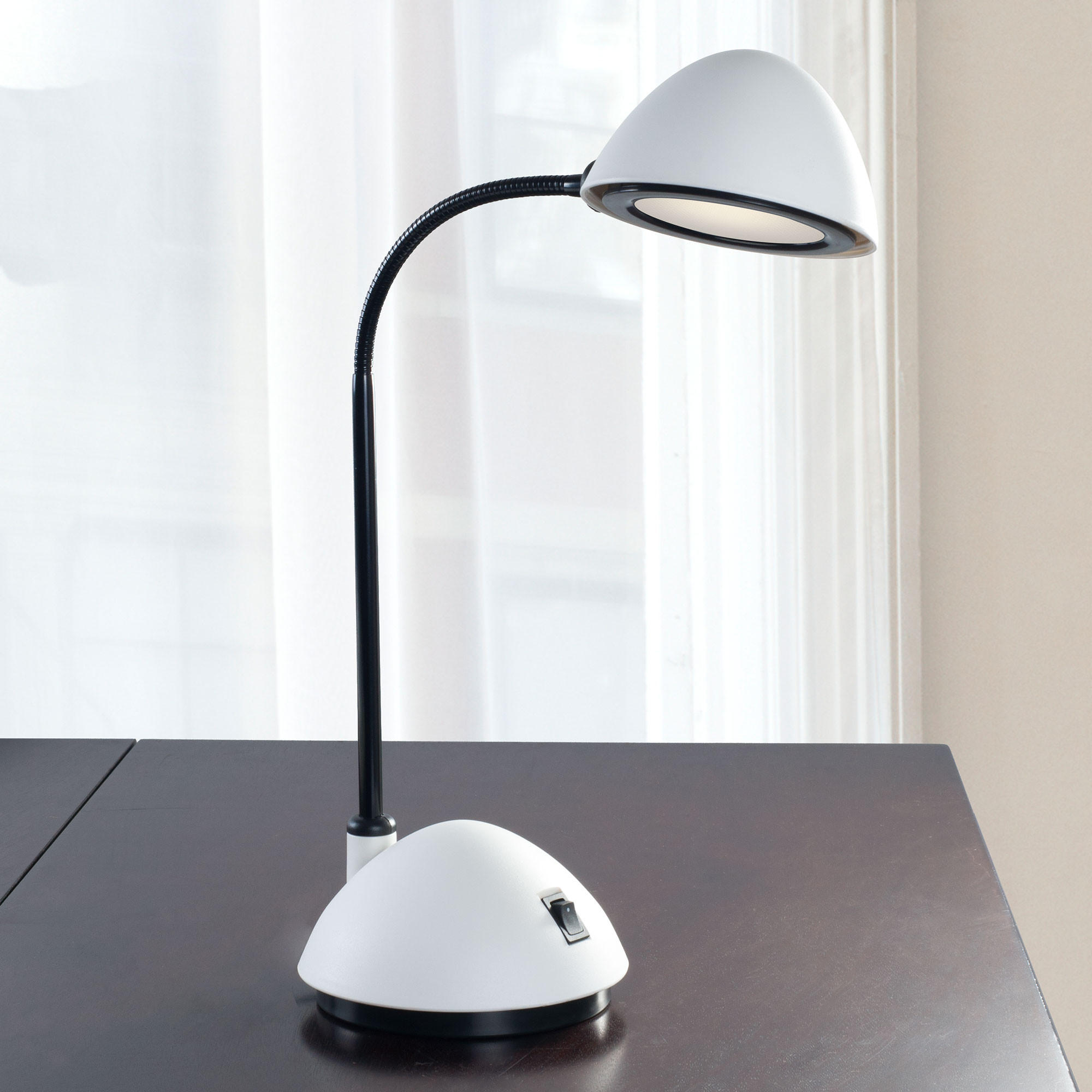 Best ideas about Bright Desk Lamp . Save or Pin Lavish Home Bright Energy Saving LED Desk Lamp White Now.
