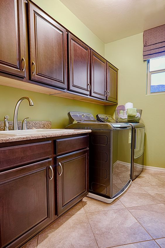 Best ideas about Brittney White Laundry Room . Save or Pin Models Home and Laundry rooms on Pinterest Now.