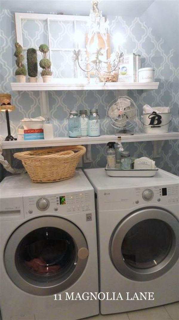Best ideas about Brittney White Laundry Room . Save or Pin 52 Ways Incorporate Shabby Chic Style into Every Room in Now.