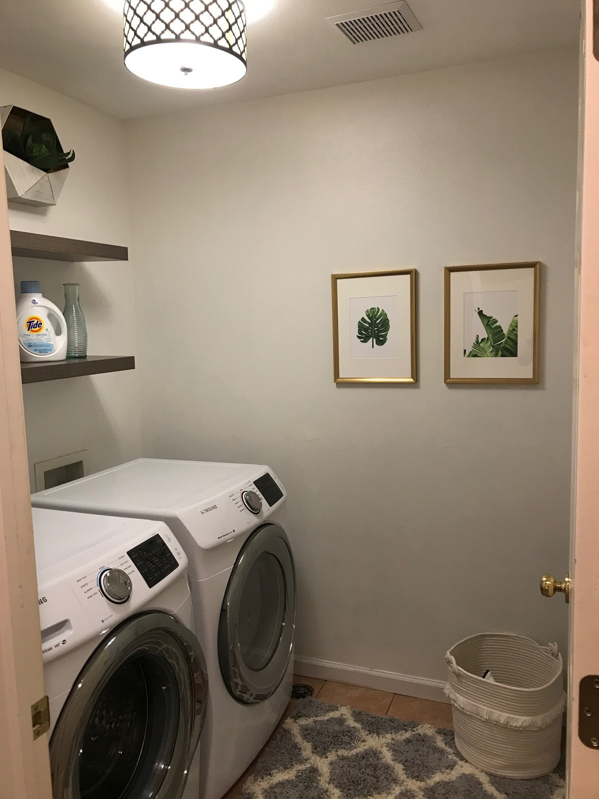 Best ideas about Brittney White Laundry Room . Save or Pin Mixin Mom Laundry Room Makeover Now.