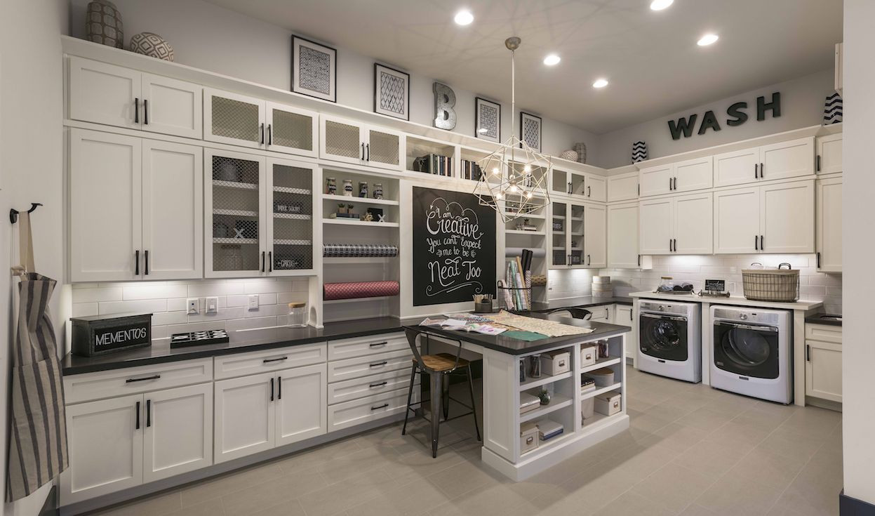 Best ideas about Brittney White Laundry Room . Save or Pin Take advantage of Monterey at Verde River s expansive Now.