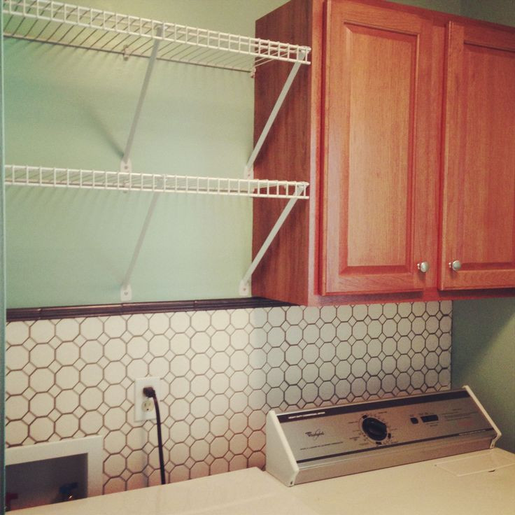 Best ideas about Brittney White Laundry Room . Save or Pin Vintage tiled laundry room Household ideas Now.