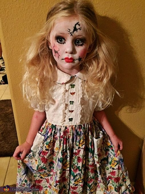 The Best Broken Doll Costume Diy Best Collections Ever