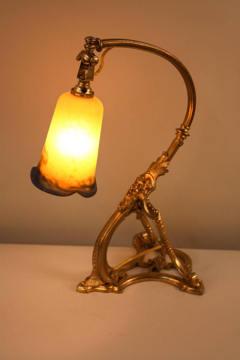 Best ideas about Bronze Desk Lamp . Save or Pin 1920s French Bronze Desk Lamp by Noverdy at 1stdibs Now.