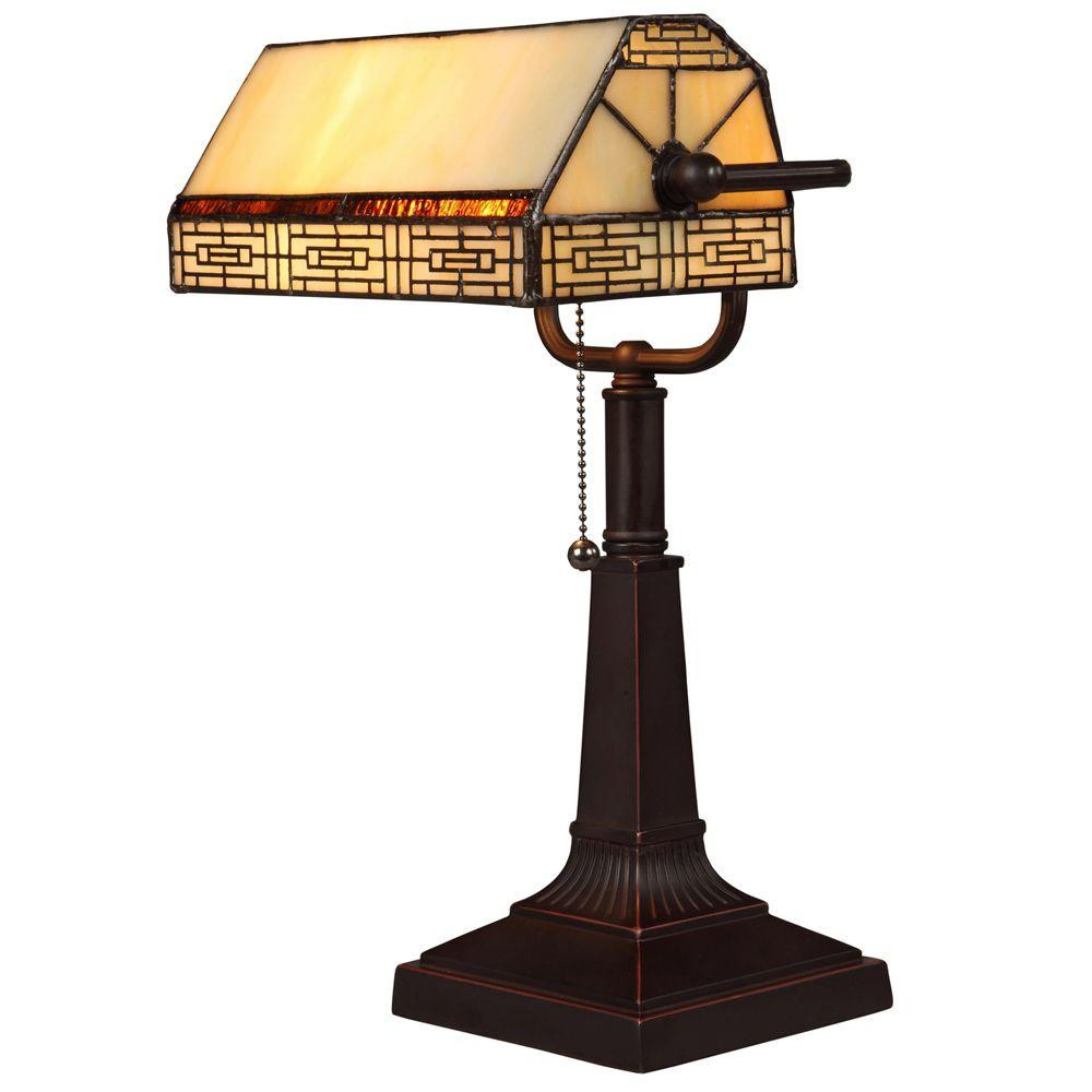 Best ideas about Bronze Desk Lamp . Save or Pin Hampton Bay Addison Banker s 16 25 in Oil Rubbed Bronze Now.