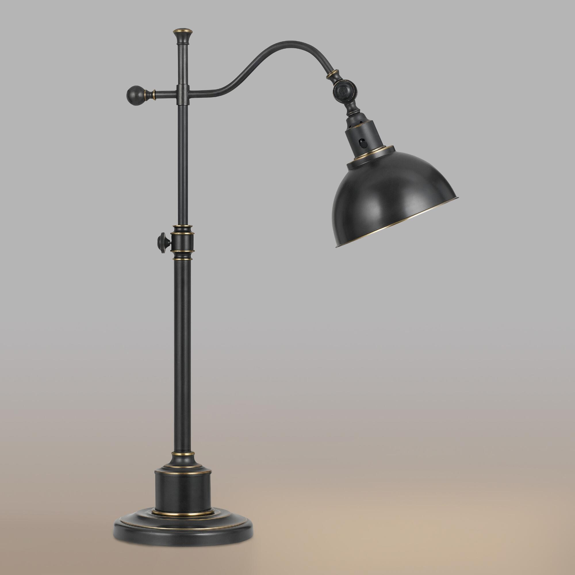 Best ideas about Bronze Desk Lamp . Save or Pin Oil Rubbed Bronze Porter Task Table Lamp Now.