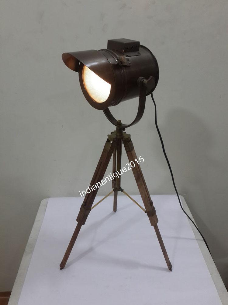 Best ideas about Bronze Desk Lamp . Save or Pin Nautical Antique Bronze Spotlight desk lamp table lamp Now.