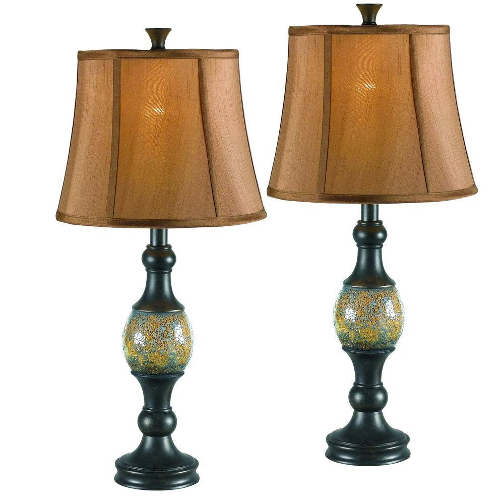Best ideas about Bronze Desk Lamp . Save or Pin Kenroy Home Shay 29 in Bronze Table Lamp Set 2 Pack Now.