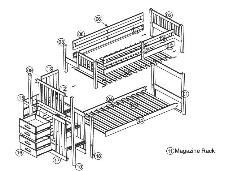 Best ideas about Bunk Bed Plans With Stairs . Save or Pin Free Bunk Bed Plans With Stairs Woodworking Plans Ideas Now.