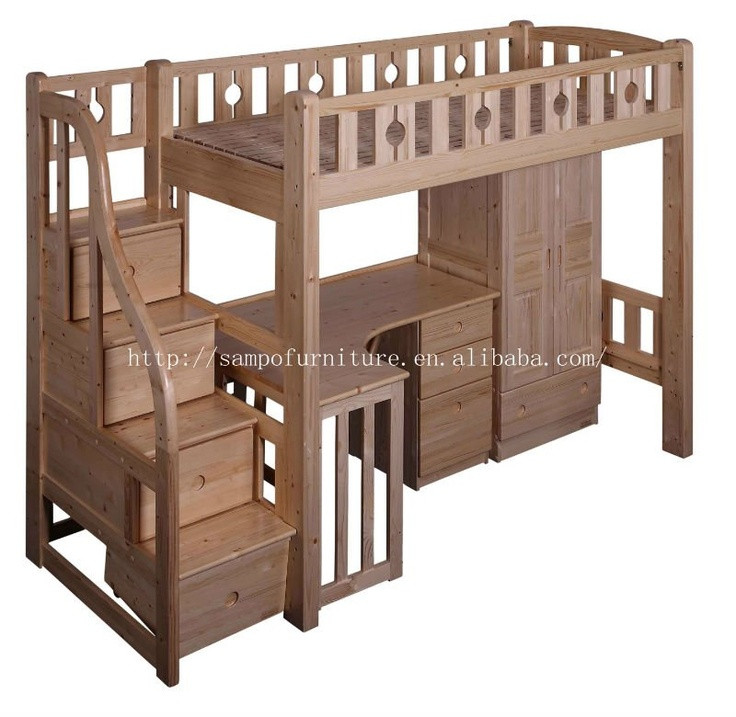 Best ideas about Bunk Bed Plans With Stairs . Save or Pin Loft Bed With Stairs WoodWorking Projects & Plans Now.