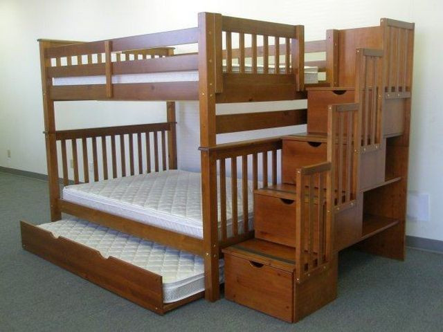 Best ideas about Bunk Bed Plans With Stairs . Save or Pin Pinterest Now.