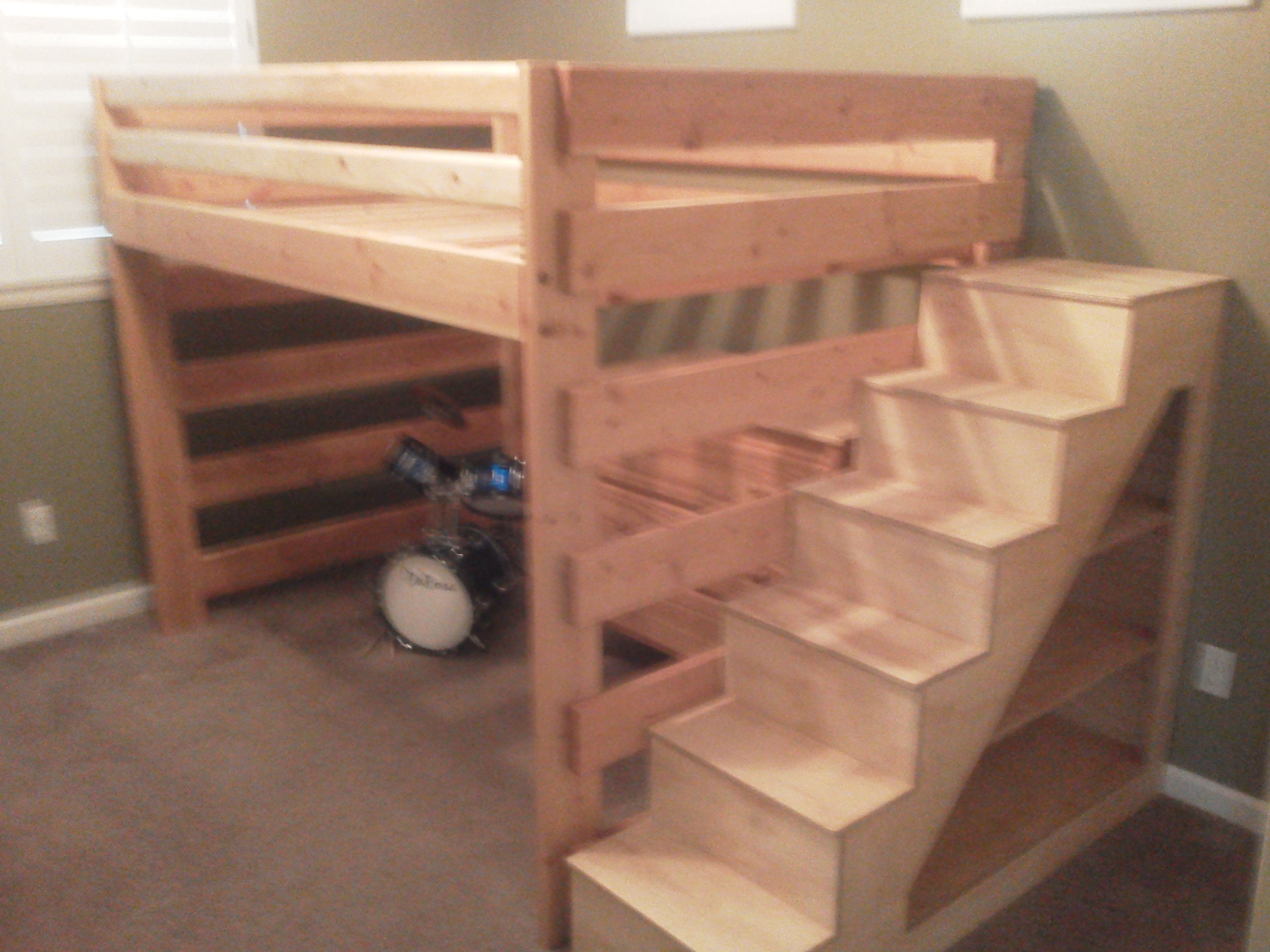 Best ideas about Bunk Bed Plans With Stairs . Save or Pin 20 of 2×4 Bunk Beds Now.