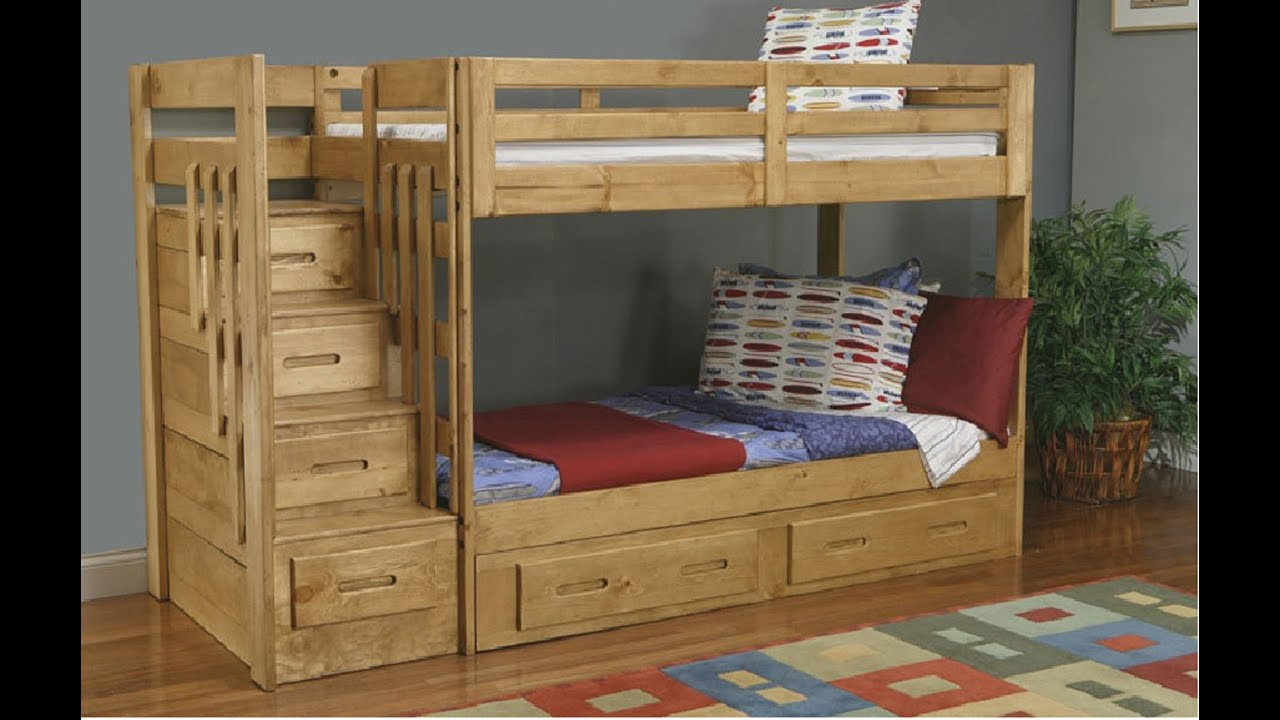 Best ideas about Bunk Bed Plans With Stairs . Save or Pin Bunk Bed With Stairs Now.