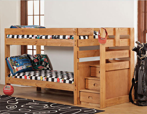 Best ideas about Bunk Bed Plans With Stairs . Save or Pin Bunk Bed With Stairs Plans Now.