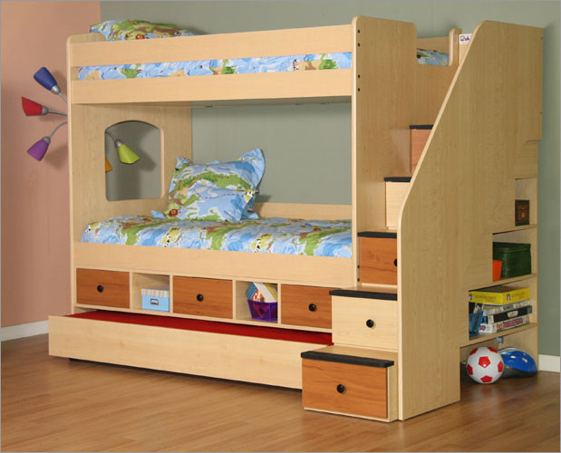 Best ideas about Bunk Bed Plans With Stairs . Save or Pin New Dream House Experience 2016 Bunk Beds Now.