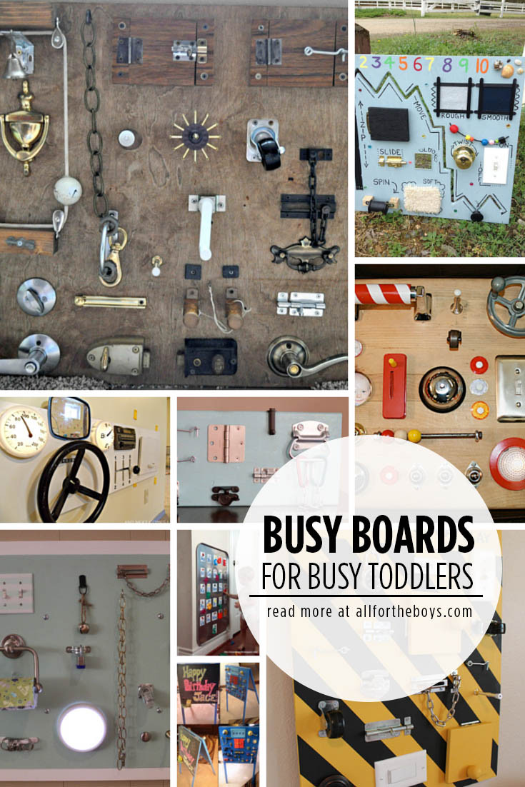 Best ideas about Busy Boards For Toddlers DIY . Save or Pin Busy Boards for Busy Toddlers — All for the Boys Now.