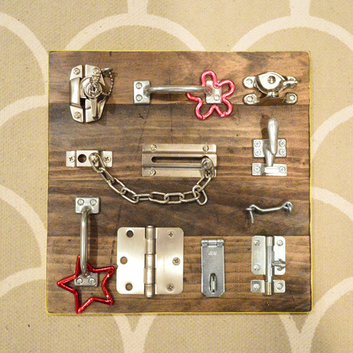 Best ideas about Busy Boards For Toddlers DIY . Save or Pin 35 Cool And Easy DIY Busy Boards For Toddlers Shelterness Now.