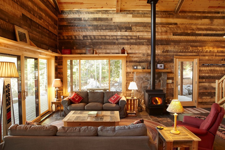 Best ideas about Cabin Living Room . Save or Pin 20 Cabin Living Room Designs ideas Now.