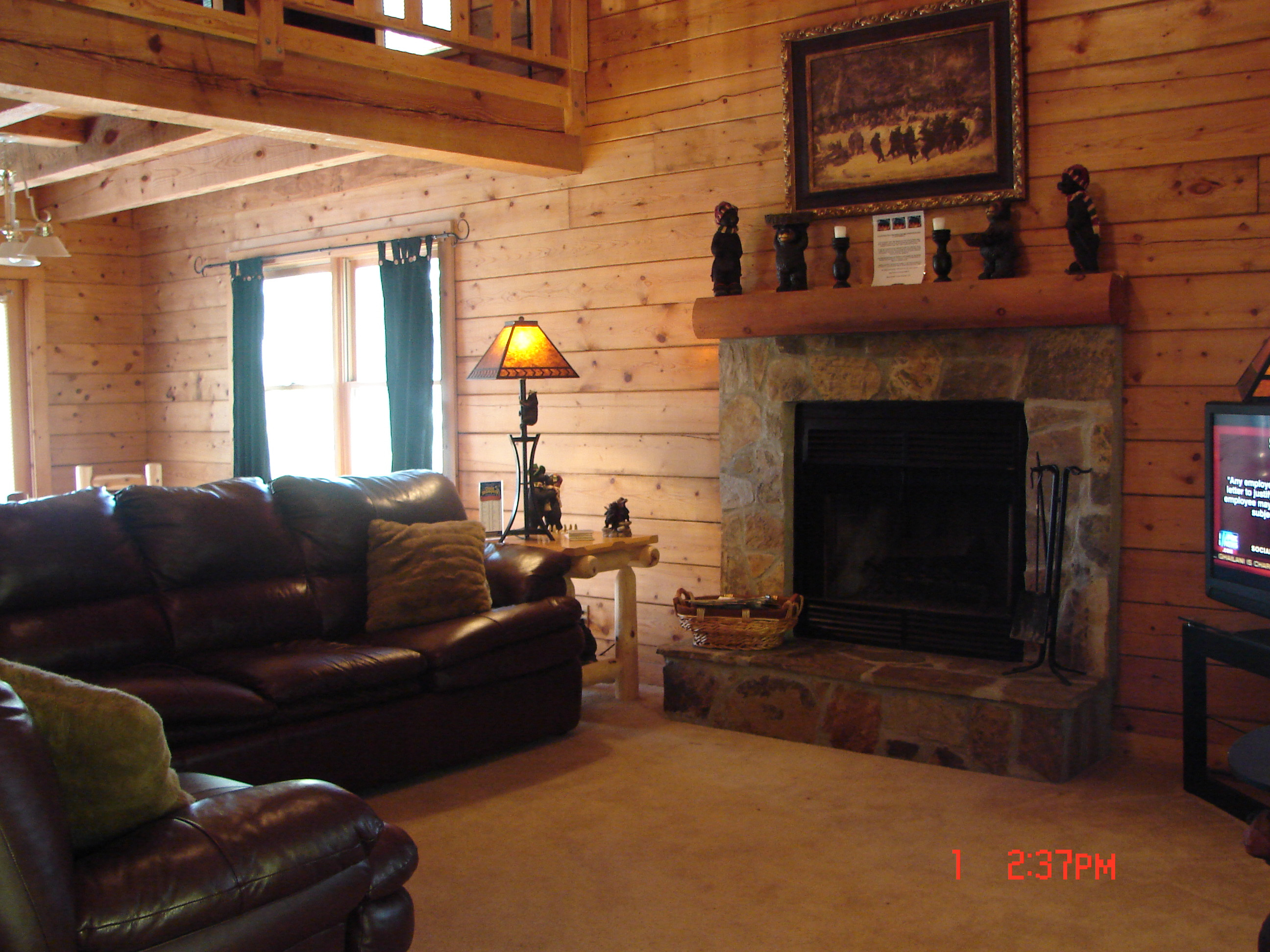 Best ideas about Cabin Living Room . Save or Pin CABIN PICTURES Now.