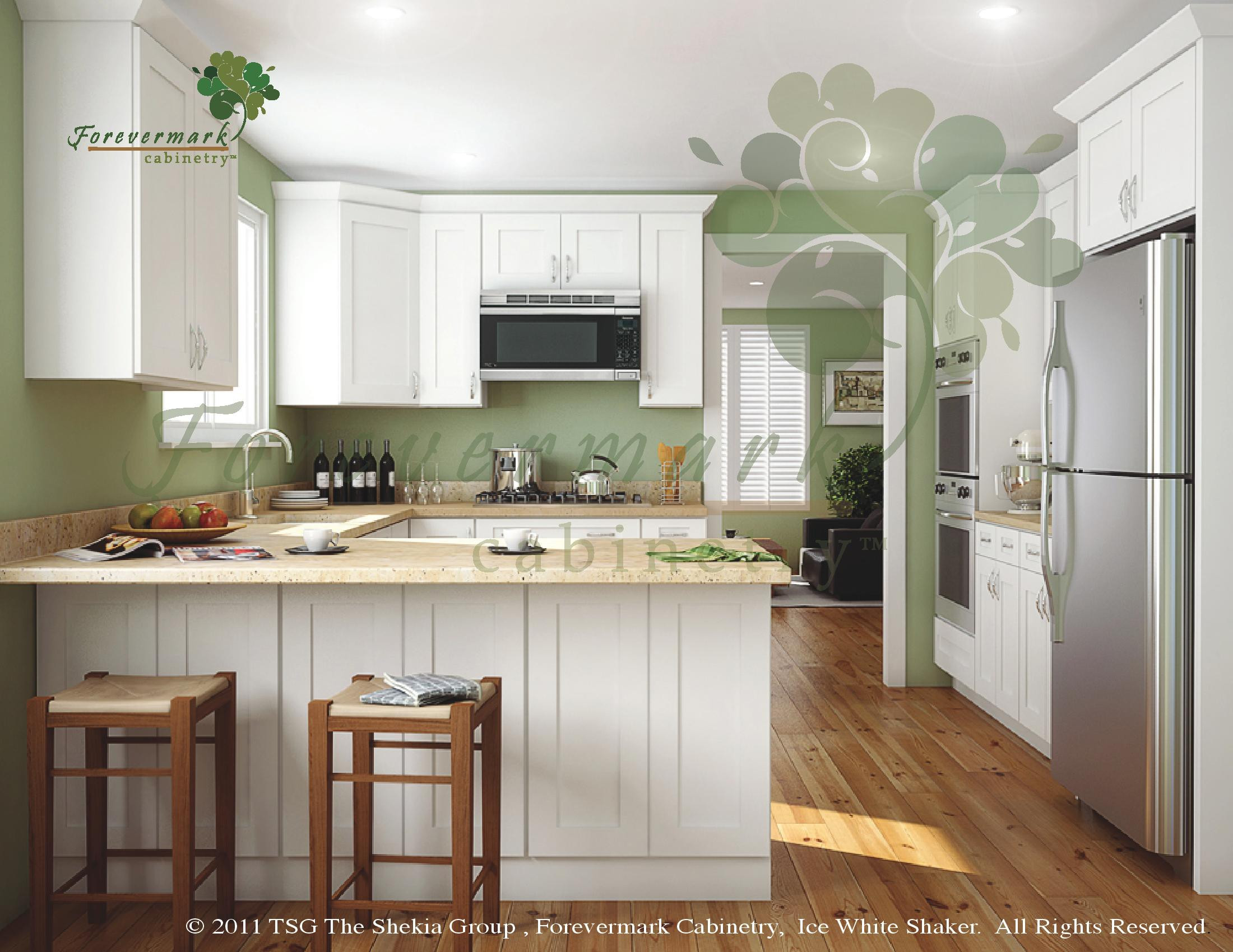 Best ideas about Cabinet Design Online . Save or Pin Buy Ice White Shaker Kitchen Cabinets line Now.