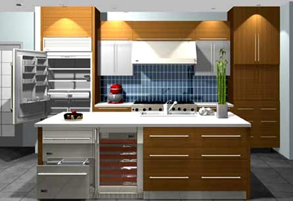 Best ideas about Cabinet Design Online . Save or Pin kitchen design online 2017 Grasscloth Wallpaper Now.