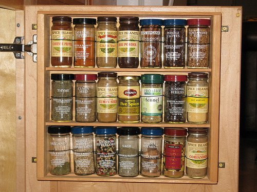 Best ideas about Cabinet Door Spice Rack DIY . Save or Pin 5 Space Saving Solutions To Mount Inside Kitchen Cabinet Now.