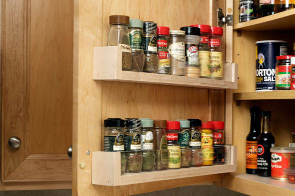 Best ideas about Cabinet Door Spice Rack DIY . Save or Pin How to Now.