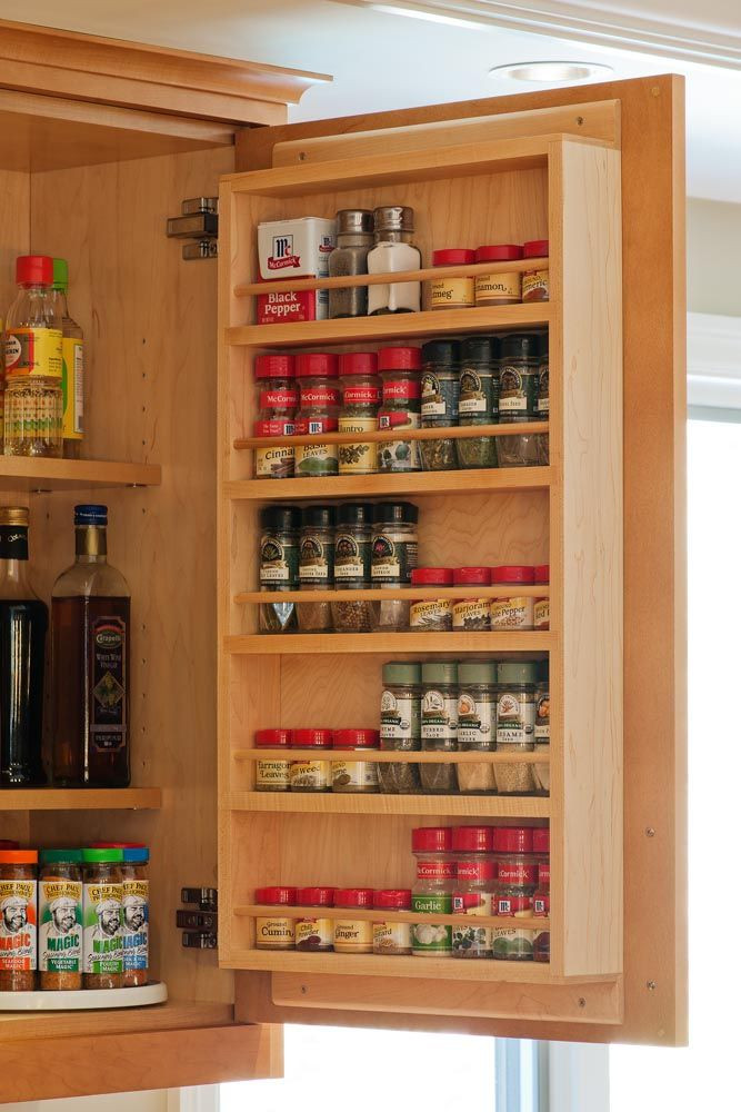 Best ideas about Cabinet Door Spice Rack DIY . Save or Pin 24 Latest Designs & Patterns for Your New Spice Rack Now.