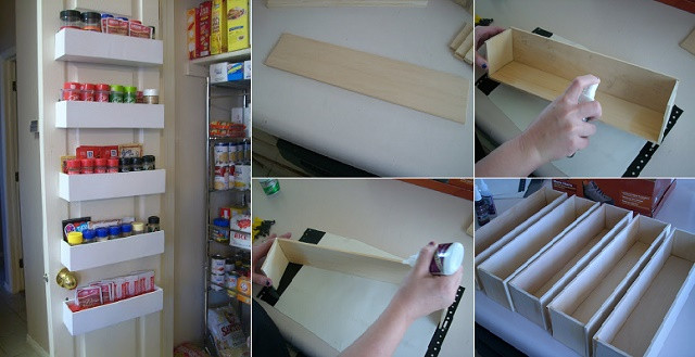 Best ideas about Cabinet Door Spice Rack DIY . Save or Pin DIY Spice Rack Instructions and Ideas Now.