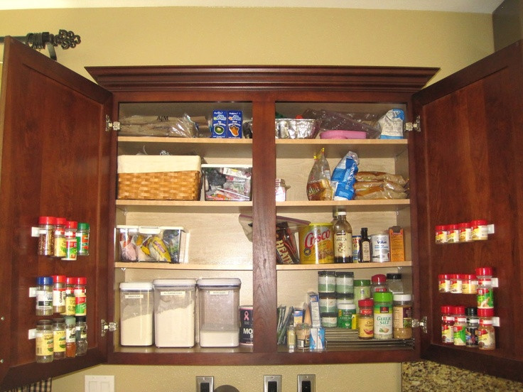 Best ideas about Cabinet Door Spice Rack DIY . Save or Pin 1000 images about Spice Racks on Pinterest Now.