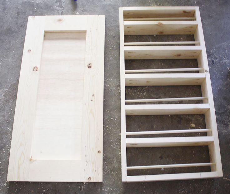 Best ideas about Cabinet Door Spice Rack DIY . Save or Pin 1000 ideas about Diy Spice Rack on Pinterest Now.