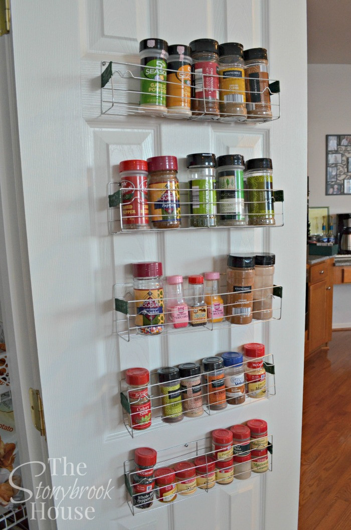 Best ideas about Cabinet Door Spice Rack DIY . Save or Pin Hometalk Now.