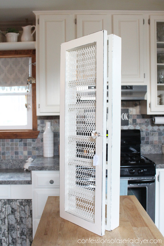 Best ideas about Cabinet Door Spice Rack DIY . Save or Pin DIY Spice Cabinet and 17 More Kitchen Organization Ideas Now.