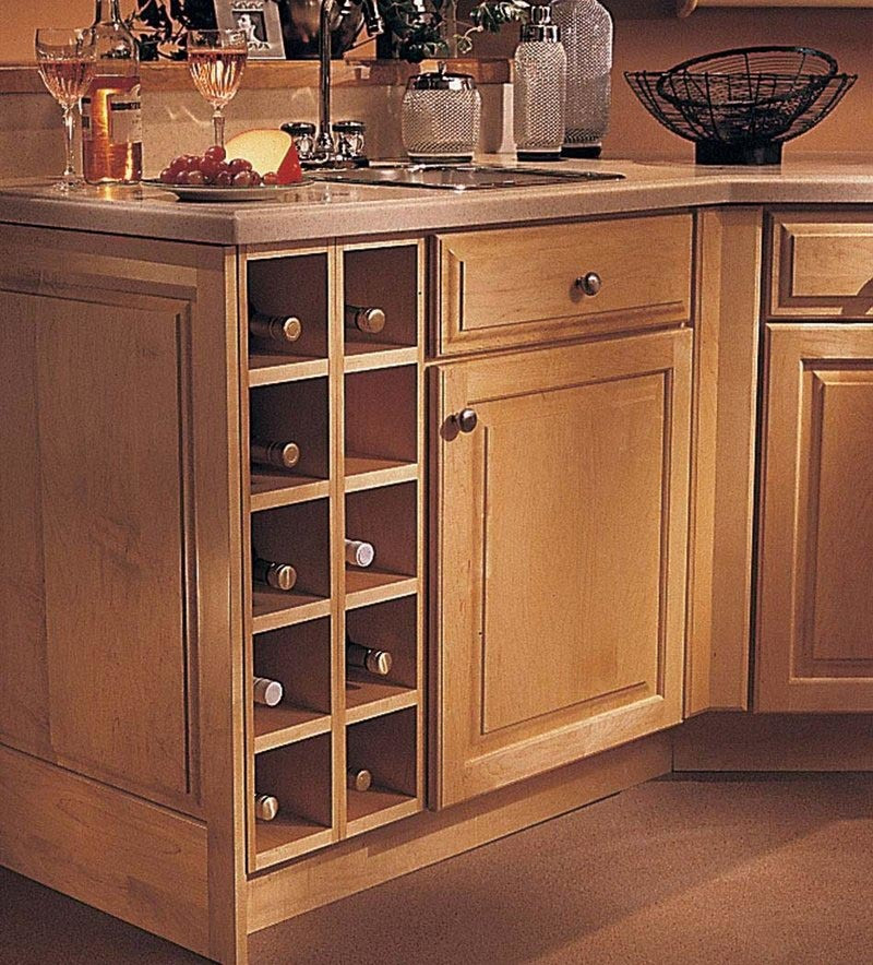 Best ideas about Cabinet With Wine Rack . Save or Pin Base Wine Rack Cabinet KraftMaid Now.
