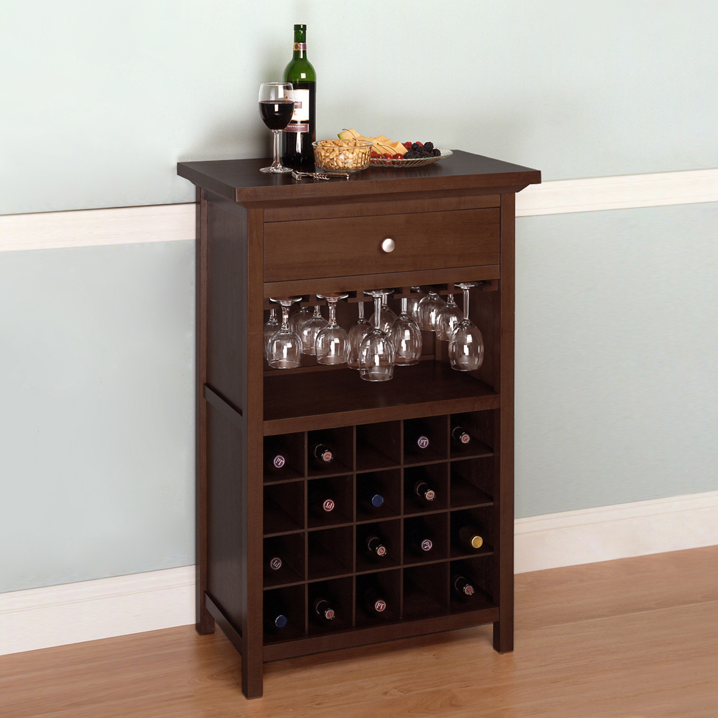 Best ideas about Cabinet With Wine Rack . Save or Pin Winsome Wood Cabinet Wine Rack Now.
