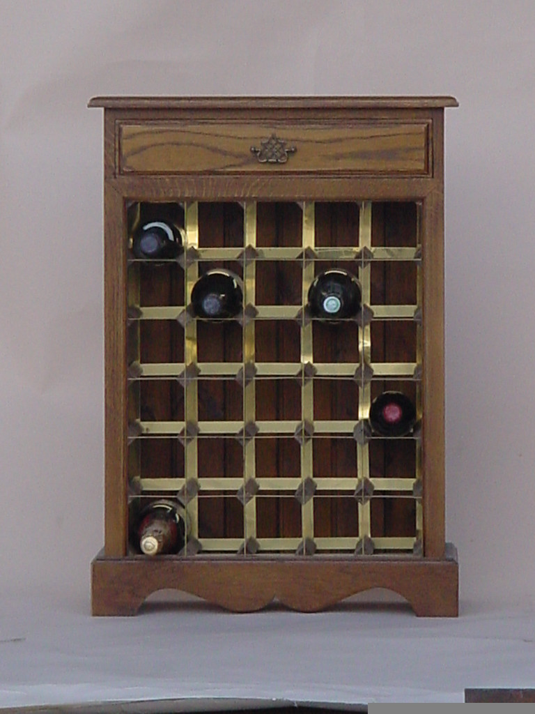 Best ideas about Cabinet With Wine Rack . Save or Pin Handmade Wine Cabinets In Stunning Wood For Storage Now.