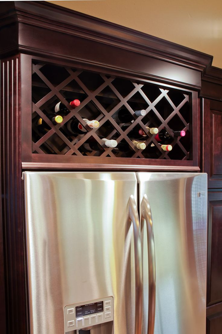 Best ideas about Cabinet With Wine Rack . Save or Pin Wine Refrigerator Cabinet Built In WoodWorking Projects Now.