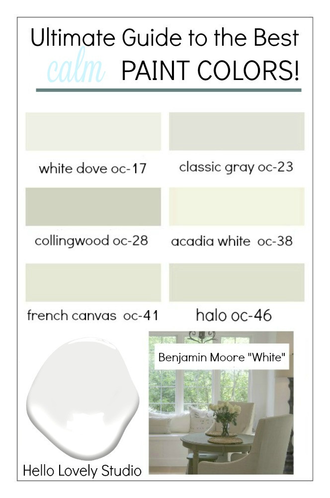 Best ideas about Calming Paint Colors . Save or Pin 12 Best Calm Paint Colors Top Picks from Designers Now.