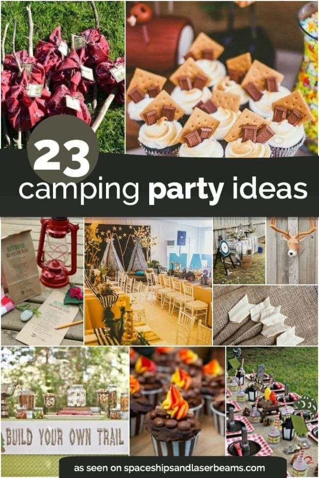 Best ideas about Camping Ideas For Adults . Save or Pin 23 Awesome Camping Party Ideas Spaceships and Laser Beams Now.