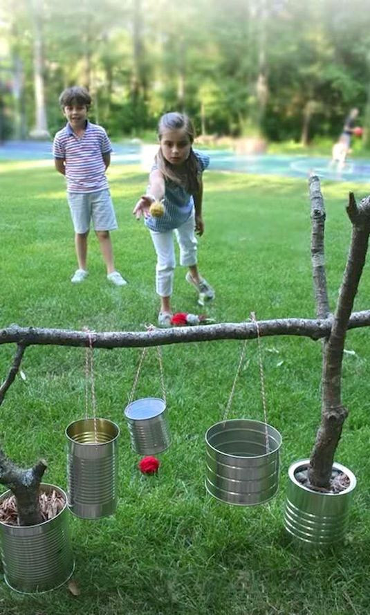 Best ideas about Camping Ideas For Adults . Save or Pin 32 Fun DIY Backyard Games To Play for kids & adults Now.