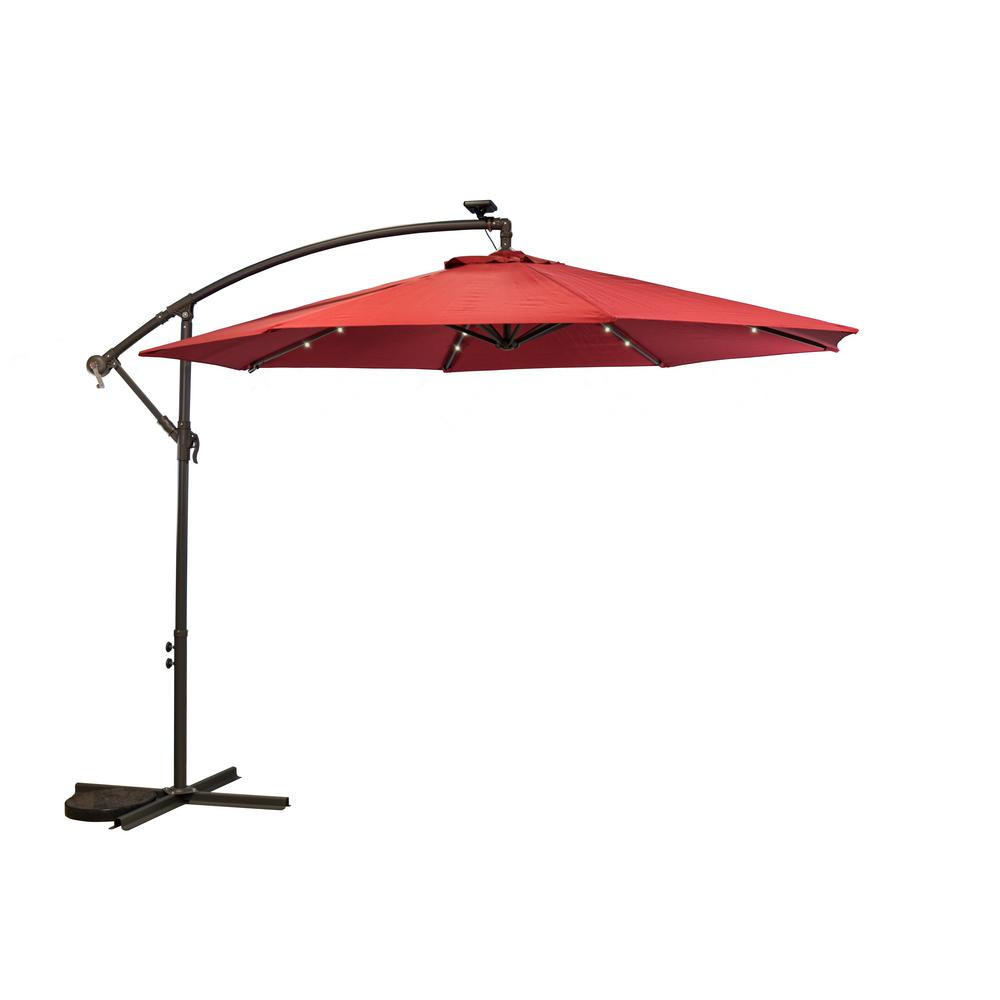 Best ideas about Cantilever Patio Umbrella . Save or Pin Island Umbrella Santorini II Fiesta 10 ft Square Now.