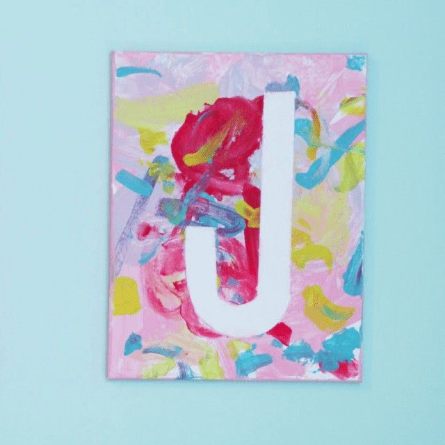 Best ideas about Canvas Crafts For Toddlers . Save or Pin Canvas Art Projects For Kids Now.