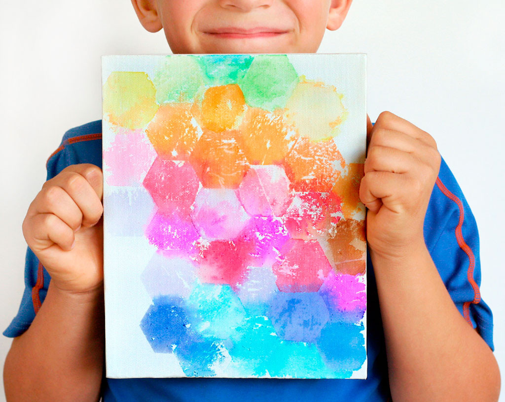 Best ideas about Canvas Crafts For Toddlers . Save or Pin 40 Simple DIY Projects for Kids to Make Now.