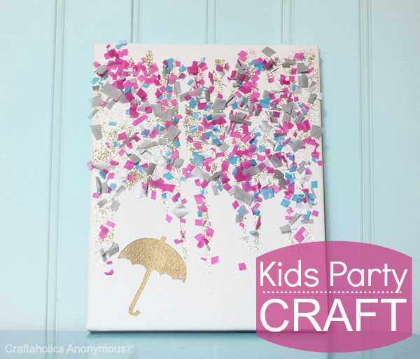 Best ideas about Canvas Crafts For Toddlers . Save or Pin Craftaholics Anonymous Now.