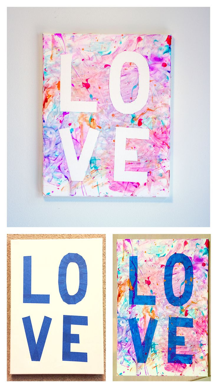 Best ideas about Canvas Crafts For Toddlers . Save or Pin Toddler Mother s Day or Valentine s Day t craft Now.