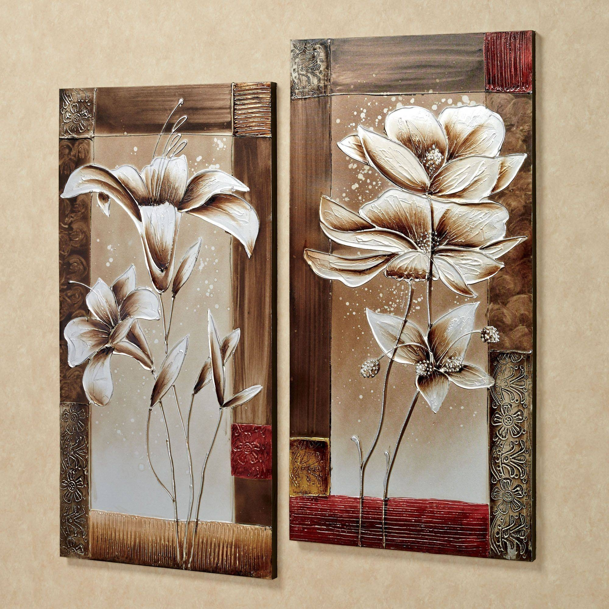 Best ideas about Canvas Wall Art Sets . Save or Pin 20 The Best Canvas Wall Art 3 Piece Sets Now.