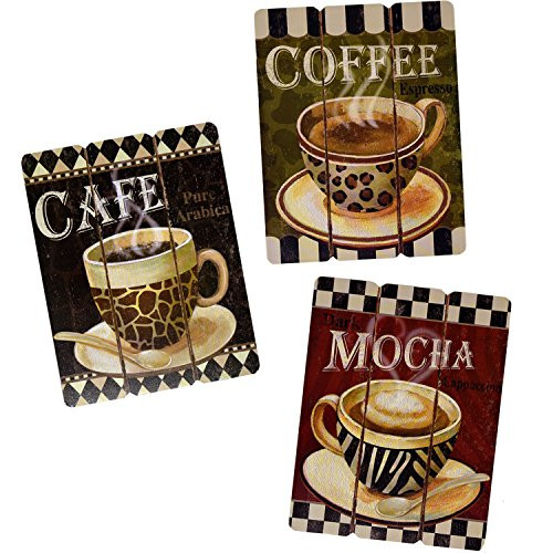 Best ideas about Cappuccino Kitchen Decor . Save or Pin Coffee Decorations for Kitchen Amazon Now.