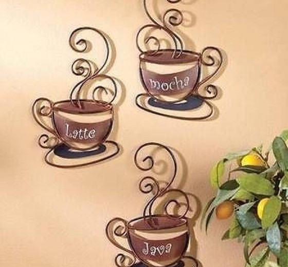 Best ideas about Cappuccino Kitchen Decor . Save or Pin 54 Coffee Themed Decorative Plates 79 Best About Now.